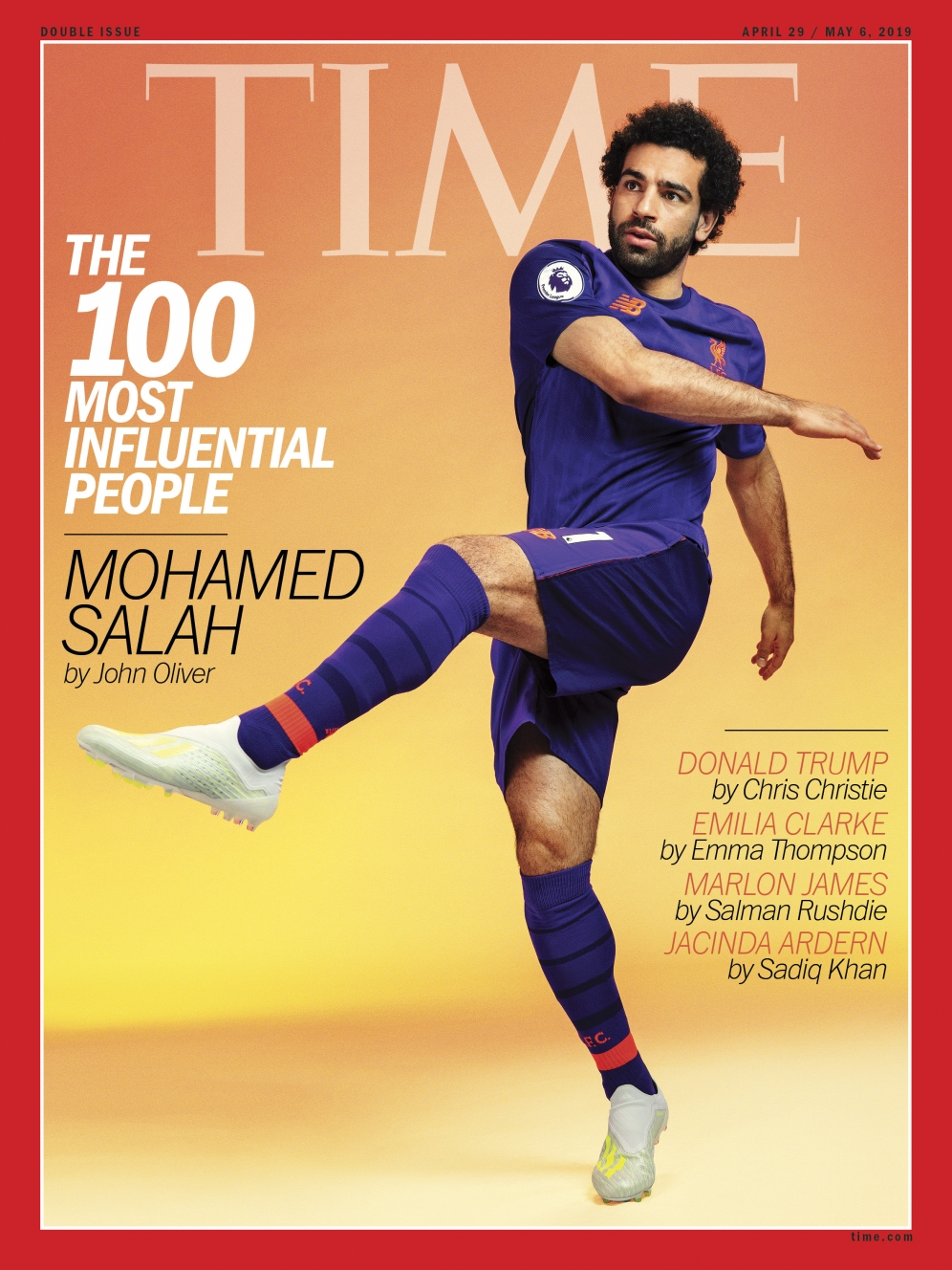 MO SALAH | TIME MAGAZINE