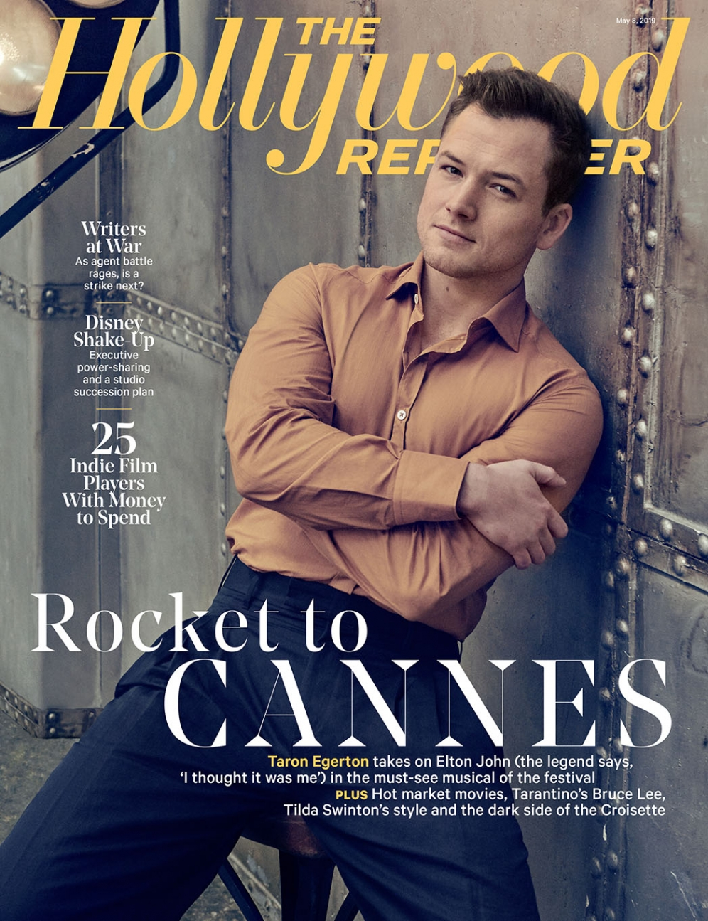 The Hollywood Reporter | Taron Egerton