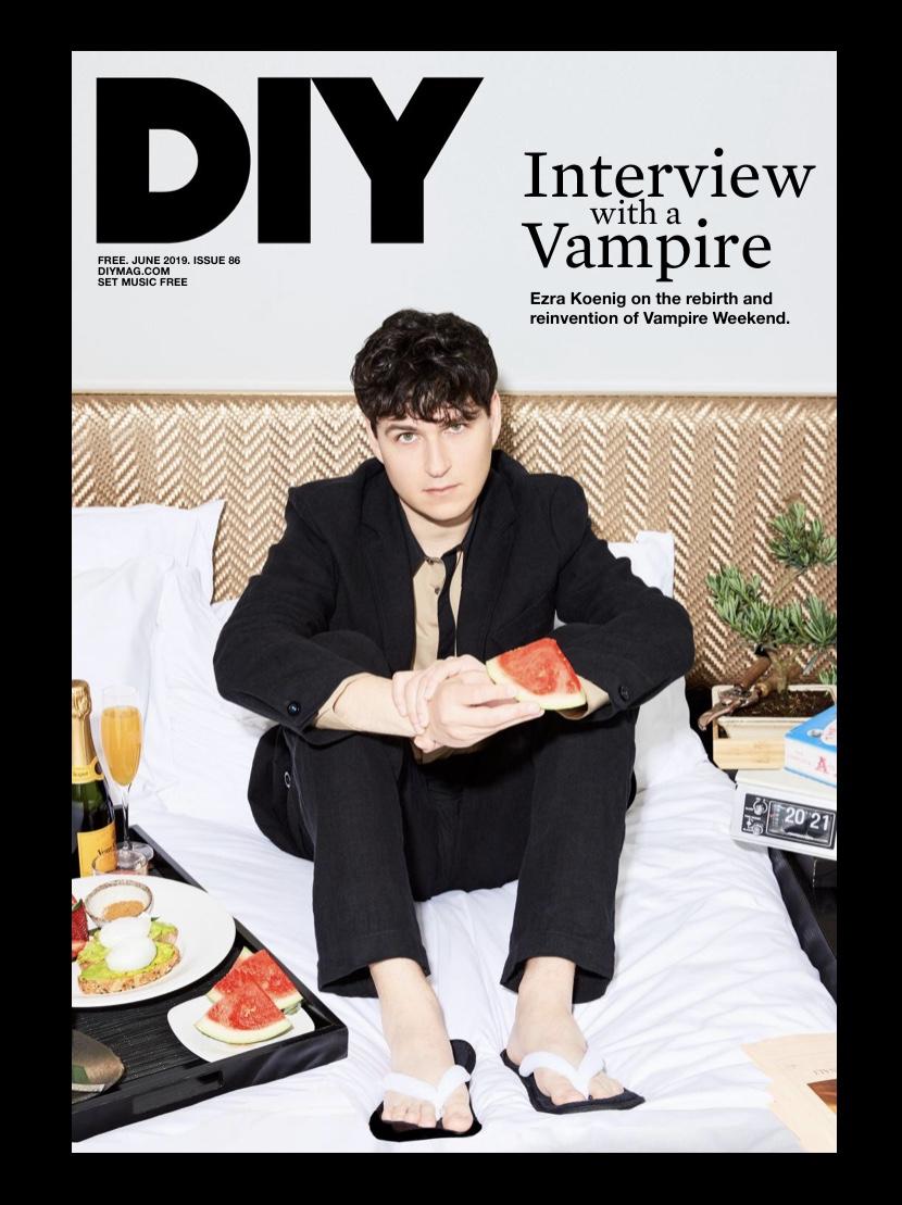 Ezra Koenig   DIY Magazine