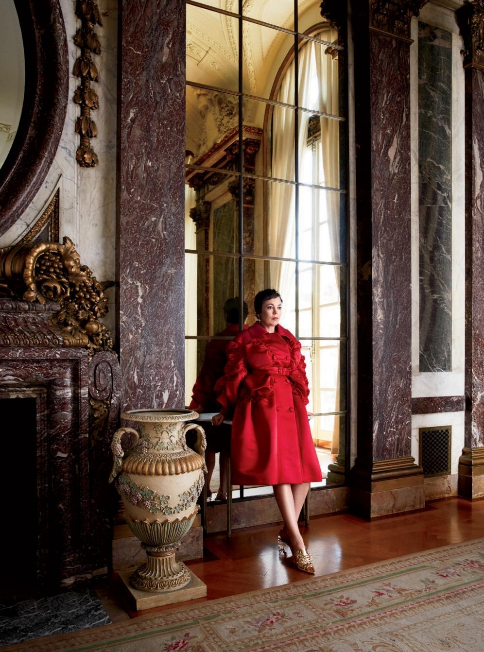 Olivia Colman | Harpers Bazaar