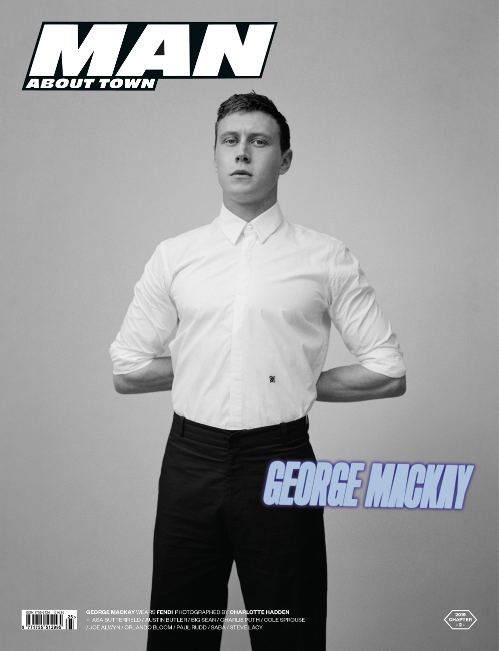 George Mackay | Man about town