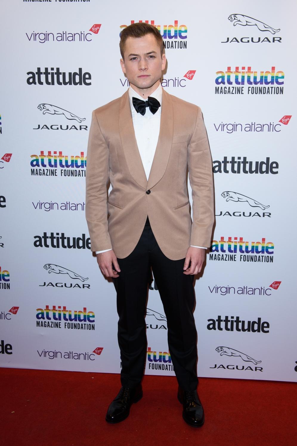 Taron Egerton | Attitude Awards