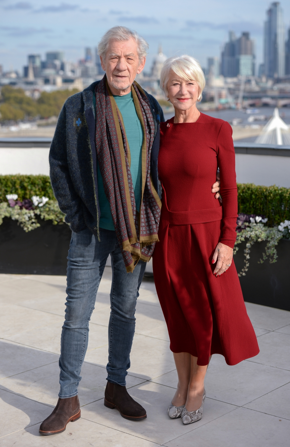 Sir Ian McKellen | Good Liars press tour