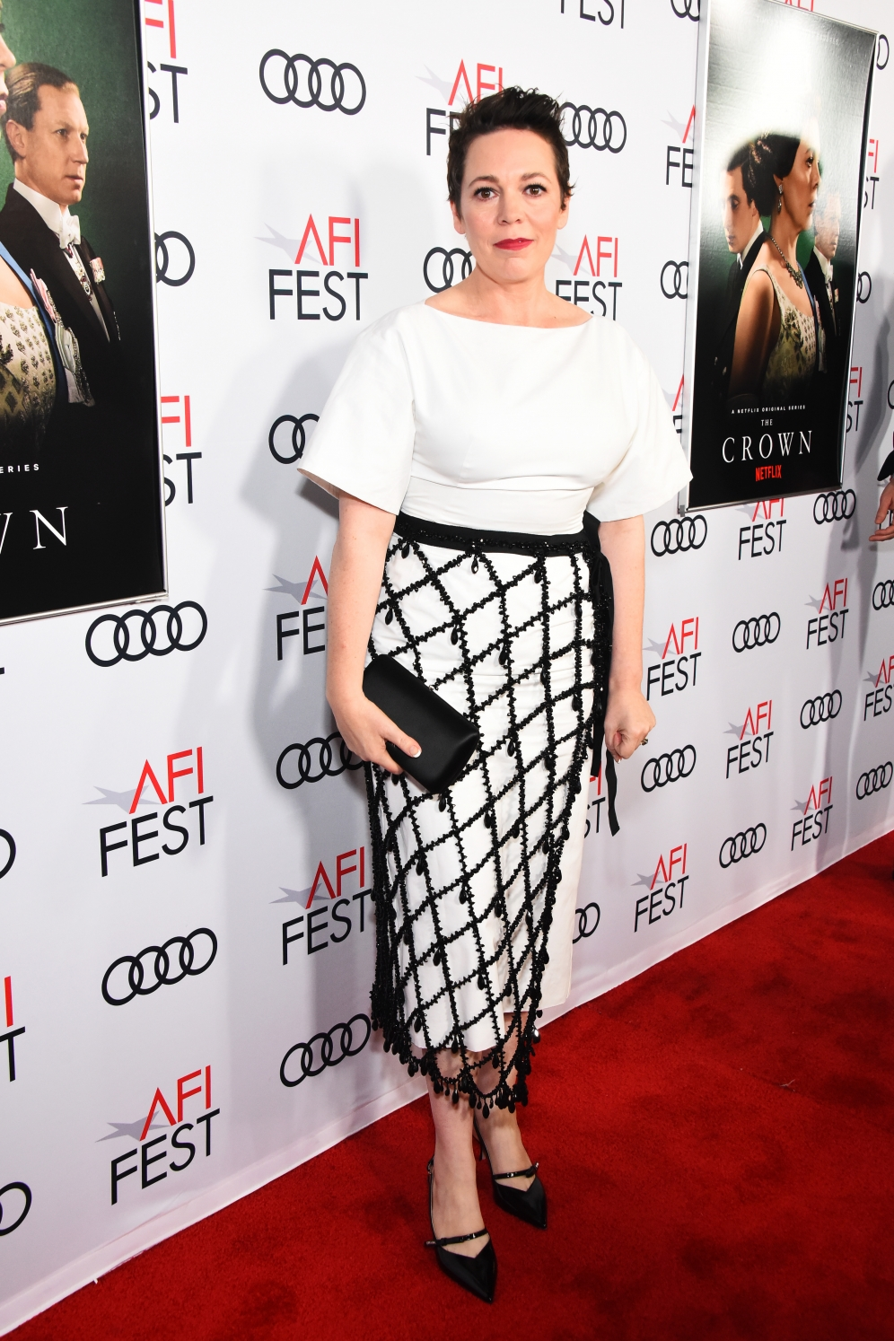 Olivia Colman | The Crown US Premiere