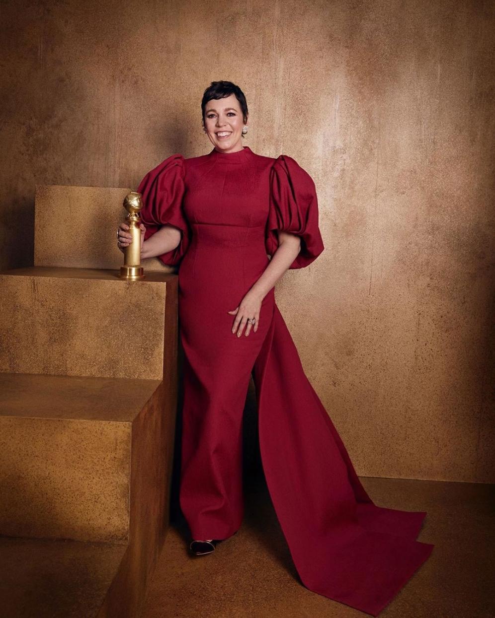 Olivia Colman | Golden Globes 2020