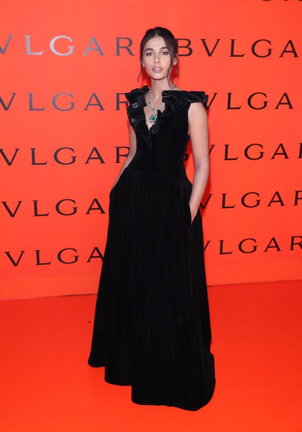 Naomi Scott | Bvlgari Rock Collection Launch Event in NYC