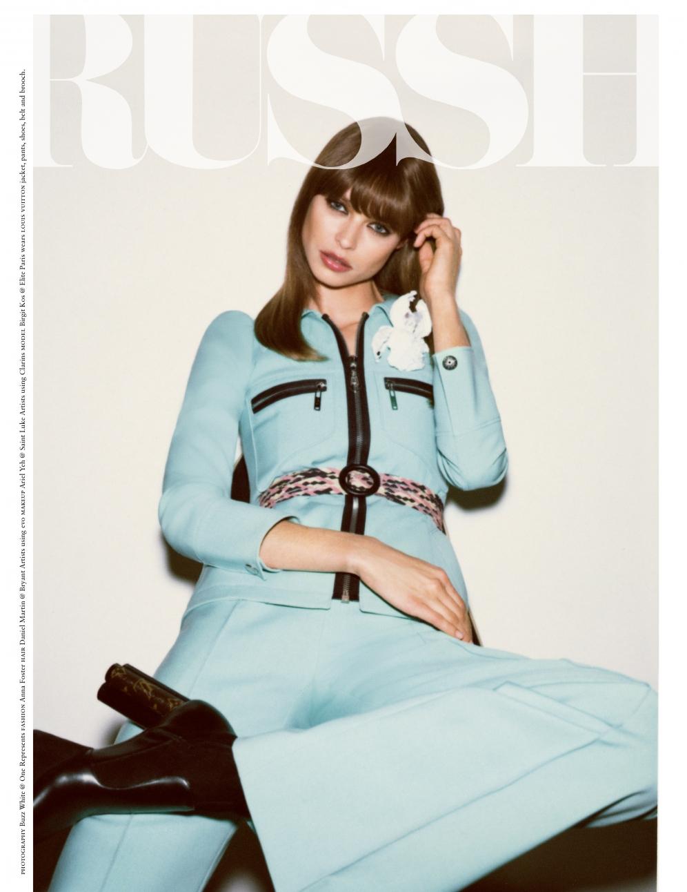 BIRGIT KOS | Russh Magazine