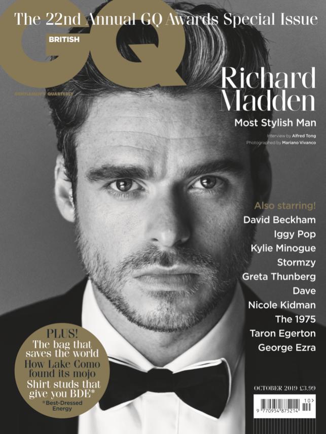 GQ | Richard Madden