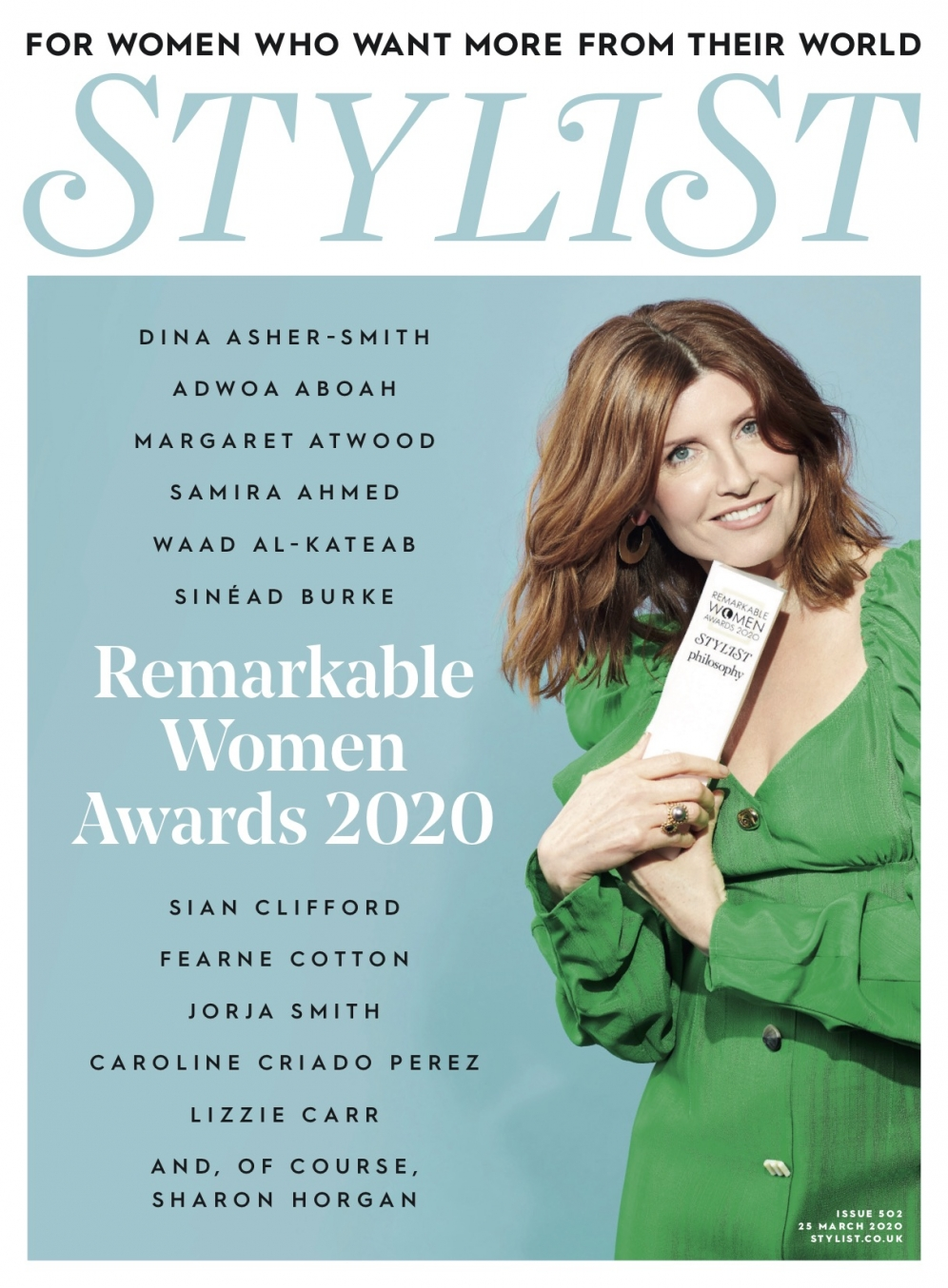 Sharon Horgan x Stylist | Woman of the Year award