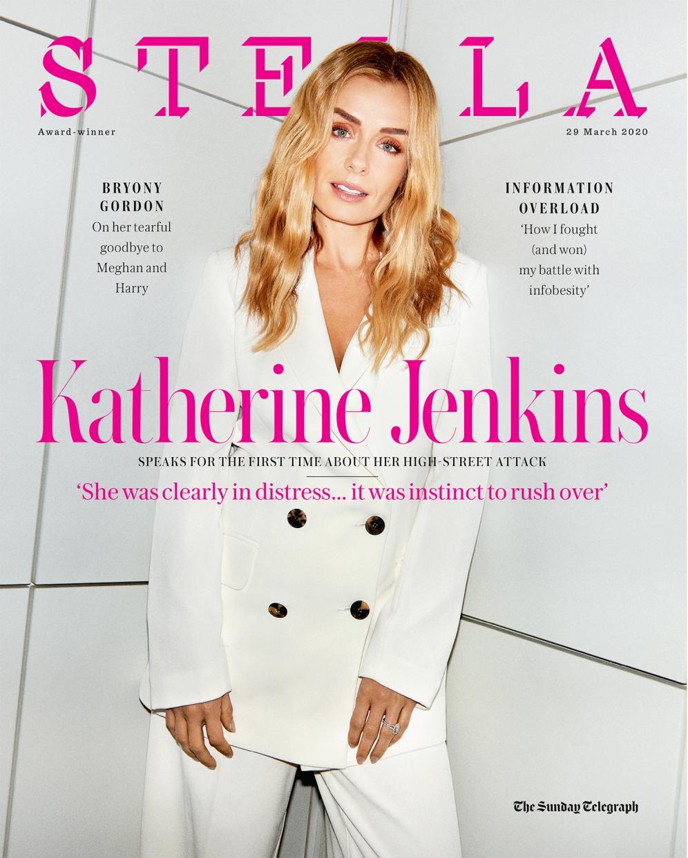 Katherine Jenkins | Stella Magazine