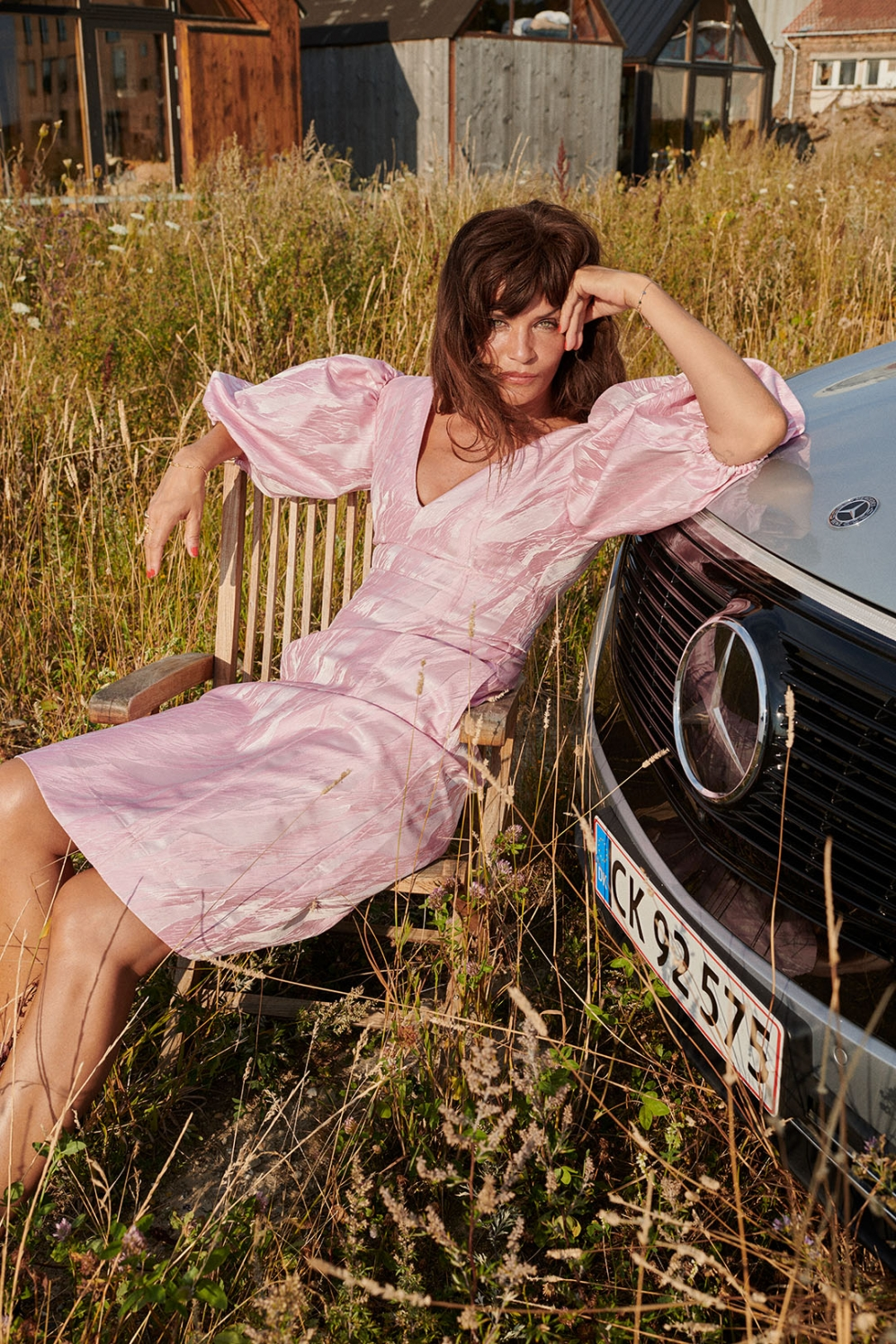 Helena Christensen x Mercedes Benz Fashion