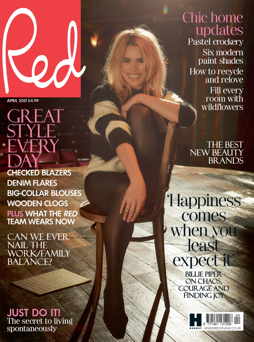 Billie Piper | Red Magazine