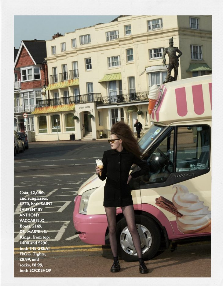 Elle   Summer Goth