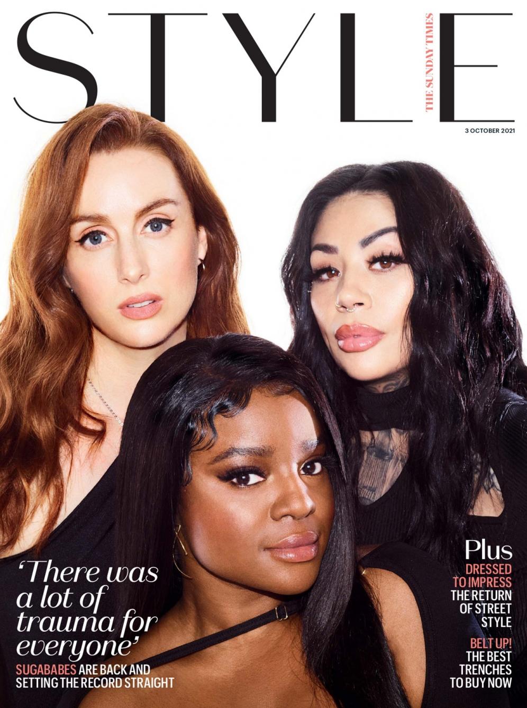 Sugababes   Sunday Times Style
